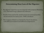 Heat Loss of Digester