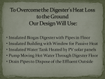 To overcome the Digester's heat loss